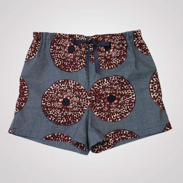 shorts pyjama wax iris curly nights