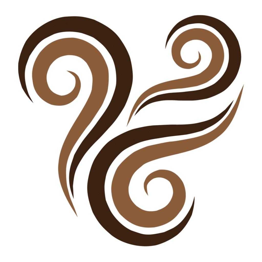 logo curly nights