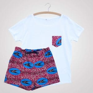 short freedom curly nights pyjama avec poches
