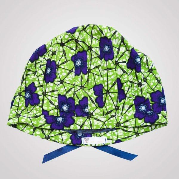 satin wax bonnet schlafhaube curly nights garden anpassbar premium
