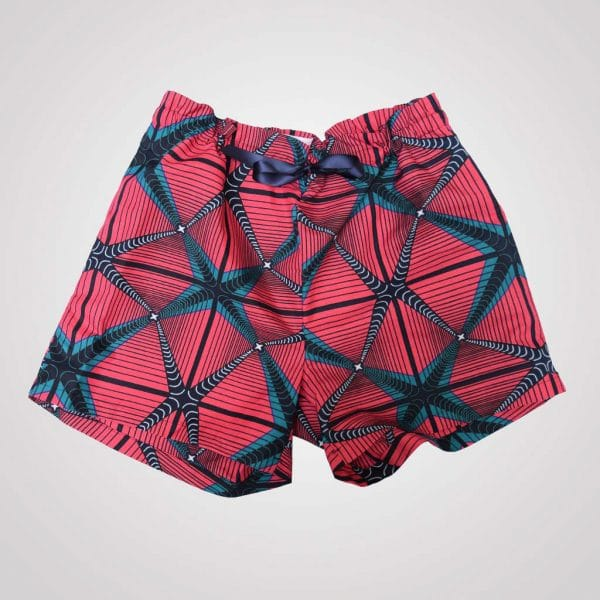 pyjama shorts curly nights wax fashion graphic