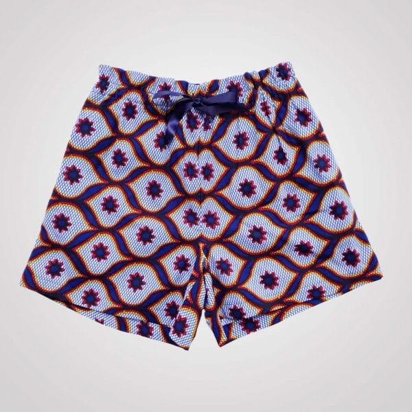 short de pyjama wax avec poches curly nights ARABESQUE