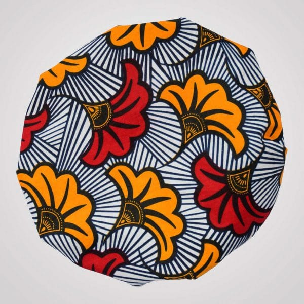 bonnet en satin wax élastique love fleurs de mariage