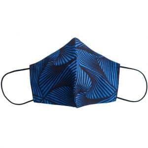 masque anti-projection lavable coton wax coronavirus covid-19 protection visage nez bouche OCEAN