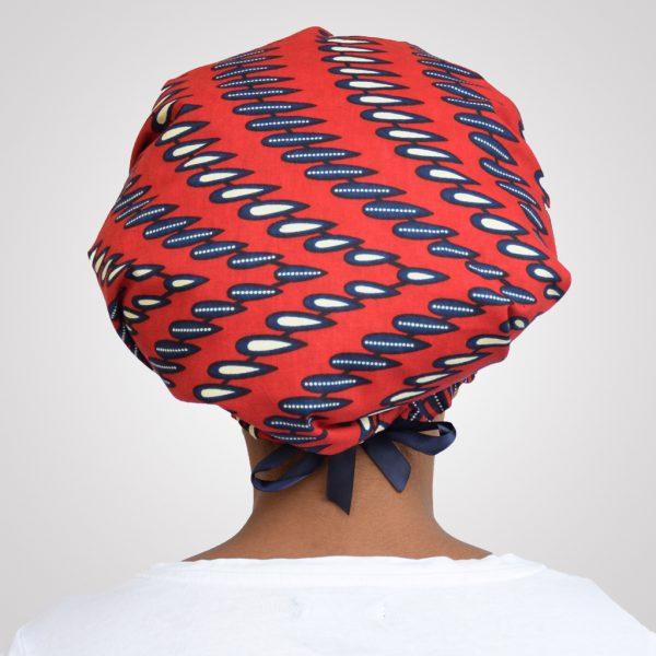 bonnet de nuit satin wax reglable curly nights RED NAILS