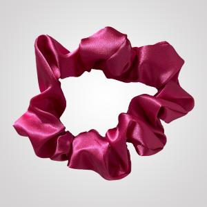 chouchou en satin rose fushia xxl curly nights