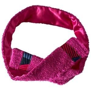 Bandeau sport/cosmétique rose fuschia